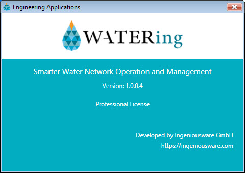 copying license file water-ing